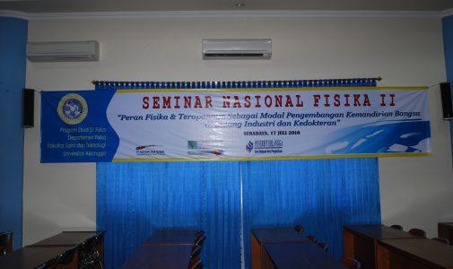 Seminar Nasional Fisika II