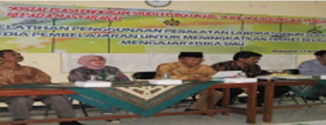 Pengabdian Masyarakat di SMAN 2 Mojokerto