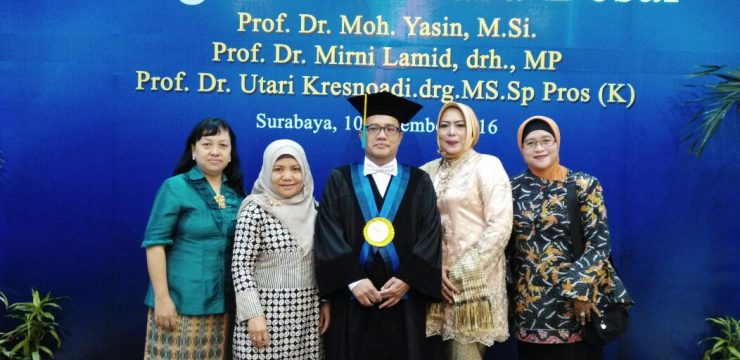 Inauguration of Prof. Dr. Moh. Yasin, M.Si.
