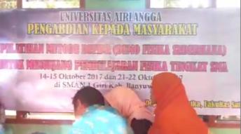 Community Service At SMAN 1 Giri Banyuwangi