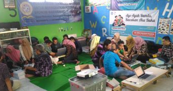 Community Service on Information Technology in Pekuwon Village, Mojokerto 2018