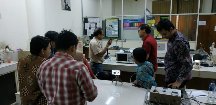 Pemeliharaan dan Pelatihan Operasional Optical Spectrum Analyzer Yokogawa