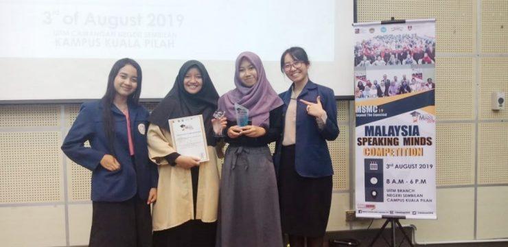 Usung Radioactive Pills, Mahasiswa FST Juara II Malaysia Speaking Mind Competition