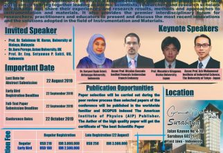 The 2nd International Conference on Physical Instrumentation and Advanced Materials (ICPIAM  2019)